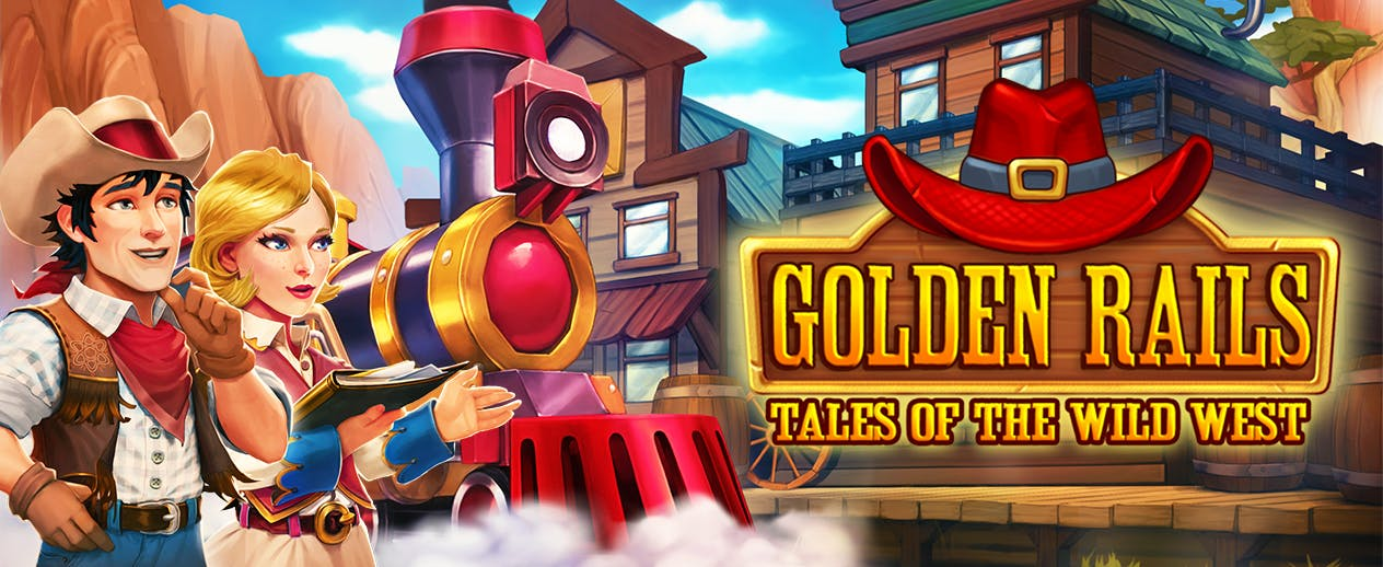 Golden Rails: Tales of the Wild West - Tame the Wild West! - image