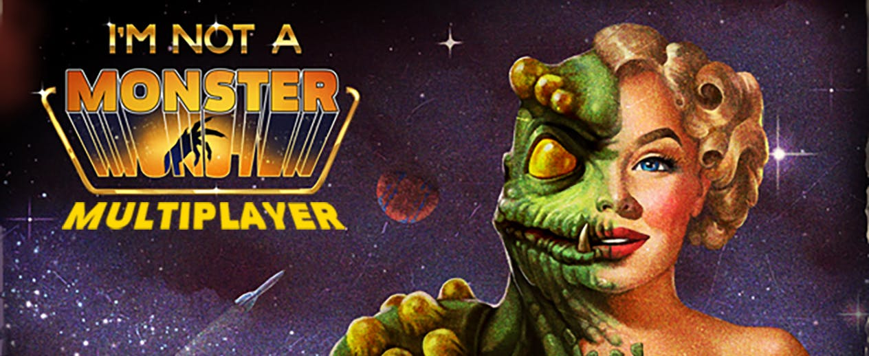 I'm Not A Monster: First Contact Multiplayer - A tourist starship is under invasion - image