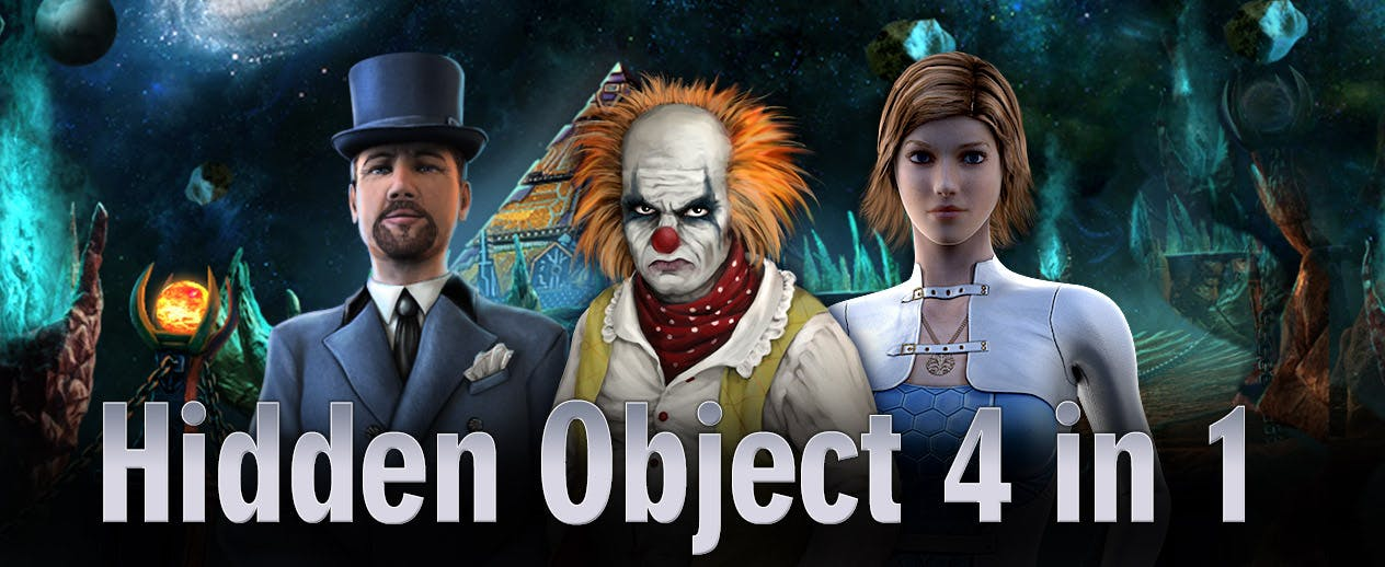 Hidden Object 4-in-1 Bundle - 4 awesome games, 1 package! - image