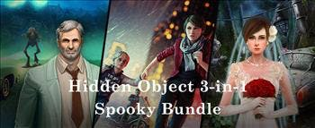 Hidden Object 3-in-1 Spooky Bundle - image