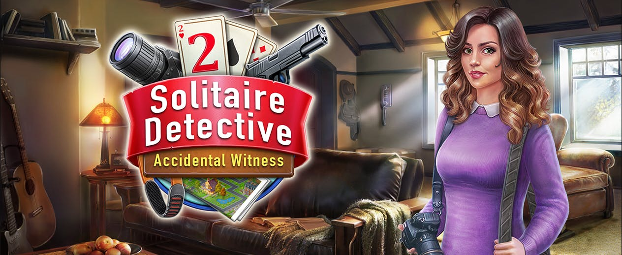 Solitaire Detective 2: Accidental Witness - An amazing solitaire detective game! - image