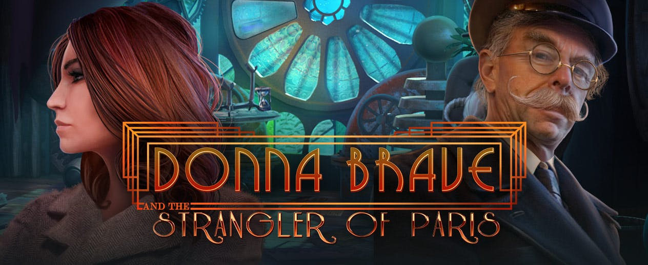 Donna Brave: And the Strangler of Paris - A mystical strangler's on the loose! - image