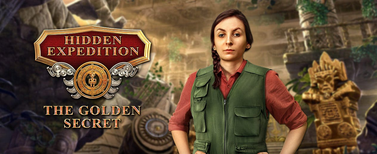 Hidden Expedition: The Golden Secret - Can you unlock H.E.L.P.'s history?