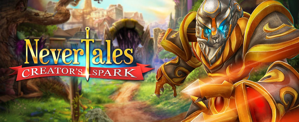 Nevertales: Creator's Spark - Your father's been lost for decades... - image
