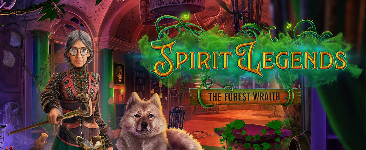 Spirit Legends: The Forest Wraith - The dark forest looms... - image