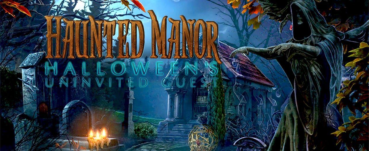 Haunted Manor: Halloween's Uninvited Guest - Secrets don't always stay buried. - image