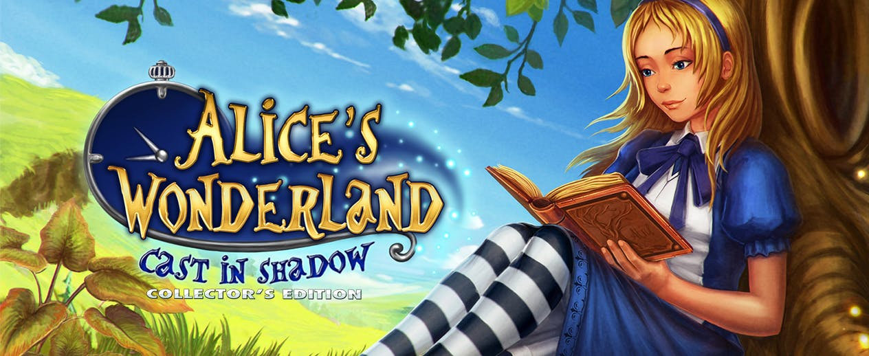 Alice's Wonderland: Cast in Shadow Collector's Edition - Alice starts a breathtaking journey - image