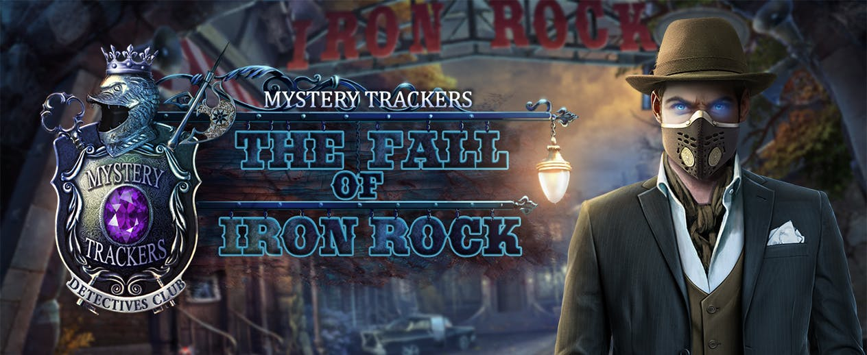 Mystery Trackers: The Fall of Iron Rock - It's no ordinary town... - image