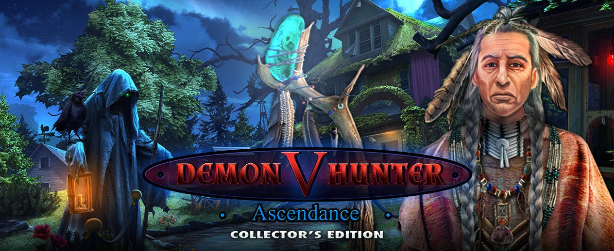 Demon Hunter V: Ascendance Collector's Edition - Find the truth in this double mystery - image