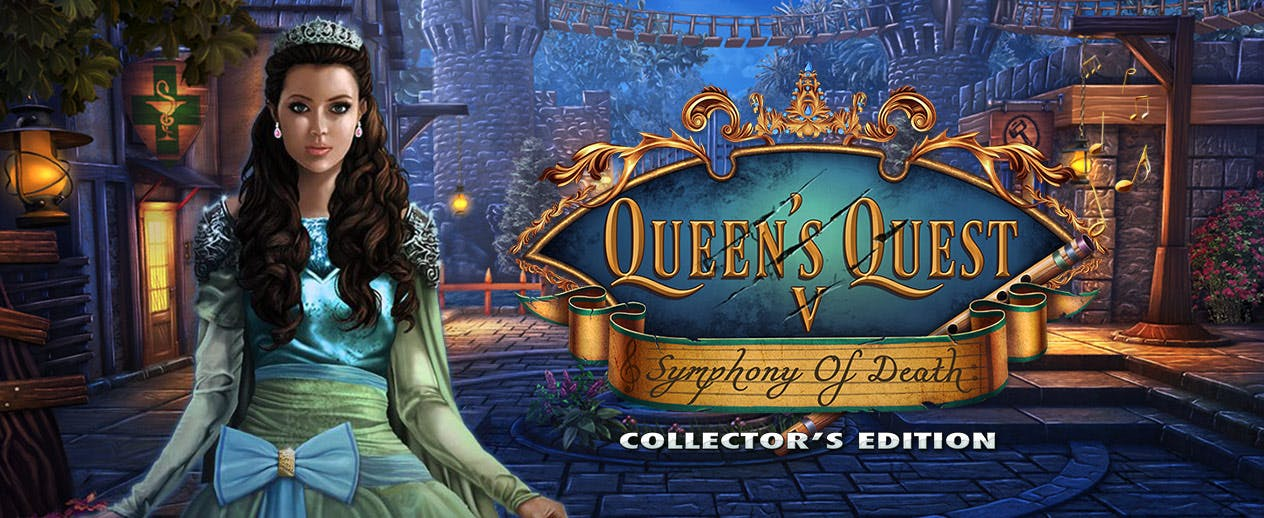 Queen's Quest 5: The Symphony of Death Collector's Edition -  - image