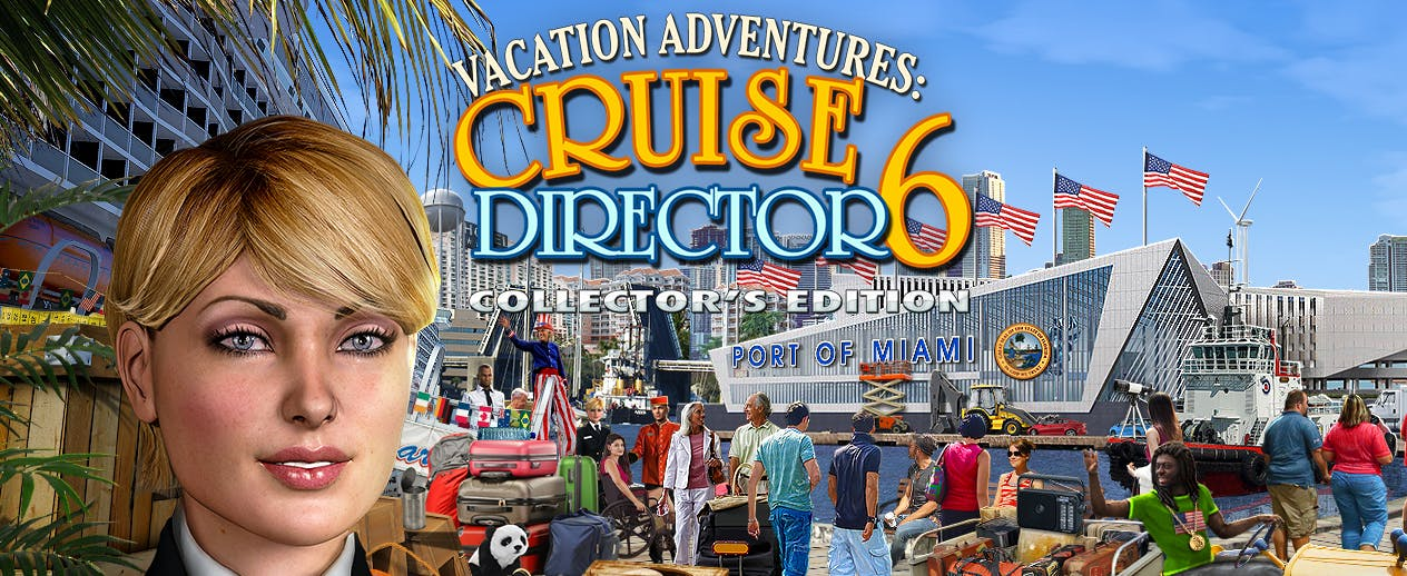 Vacation Adventures: Cruise Director 6 Collector's Edition - Ready for a Sensational Cruise? - image