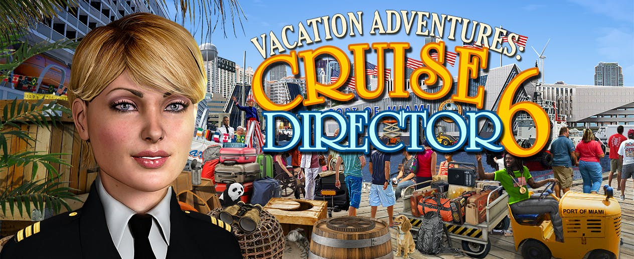 Vacation Adventures: Cruise Director 6 - Help Liberty's Cruise Director! - image