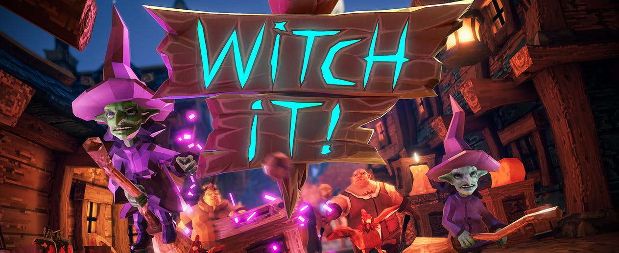 Witch It - A multiplayer hide & seek game - image