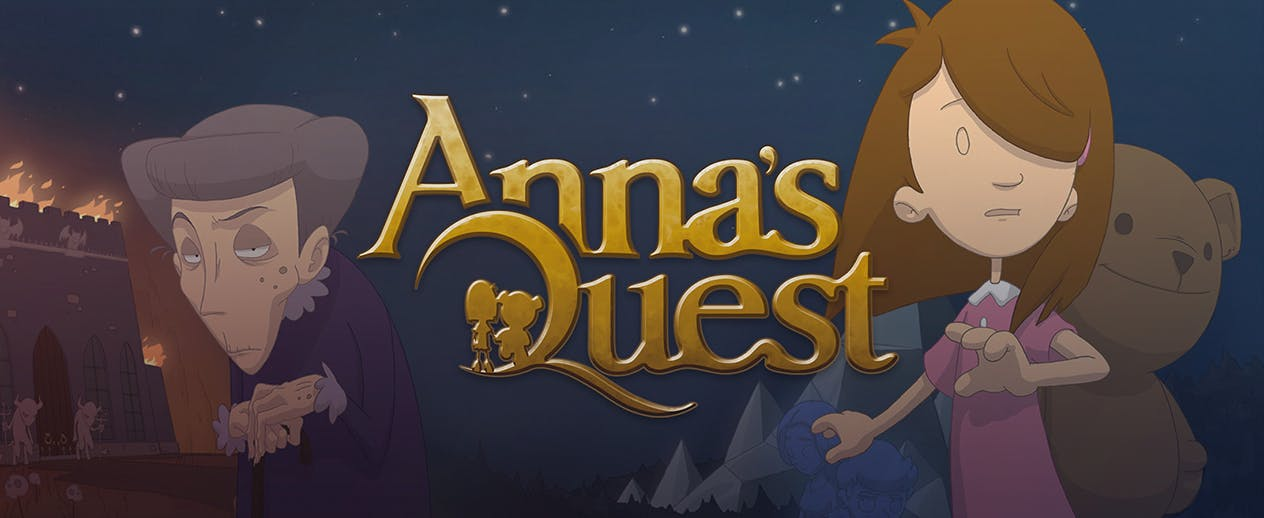 Anna's Quest - Dragons, witches, trolls... - image