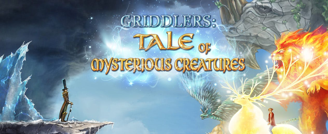 Griddlers: Tale of the Mysterious Creatures - Visit the world of Orbis - image