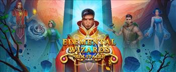 Solitaire Elemental Wizards - image