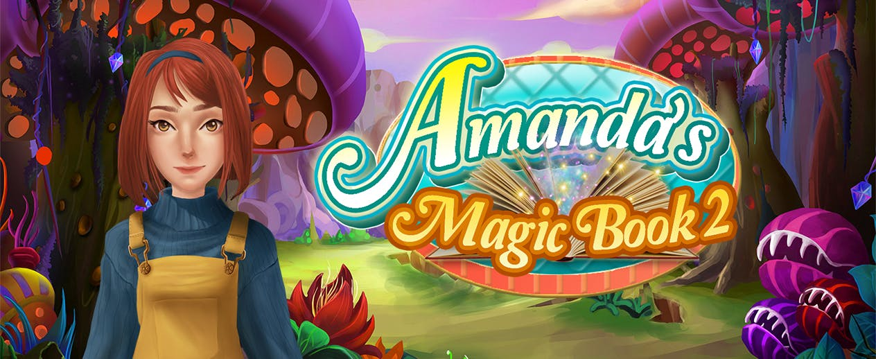 Amanda's Magic Book 2 - Join Amanda and restore the book world! - image