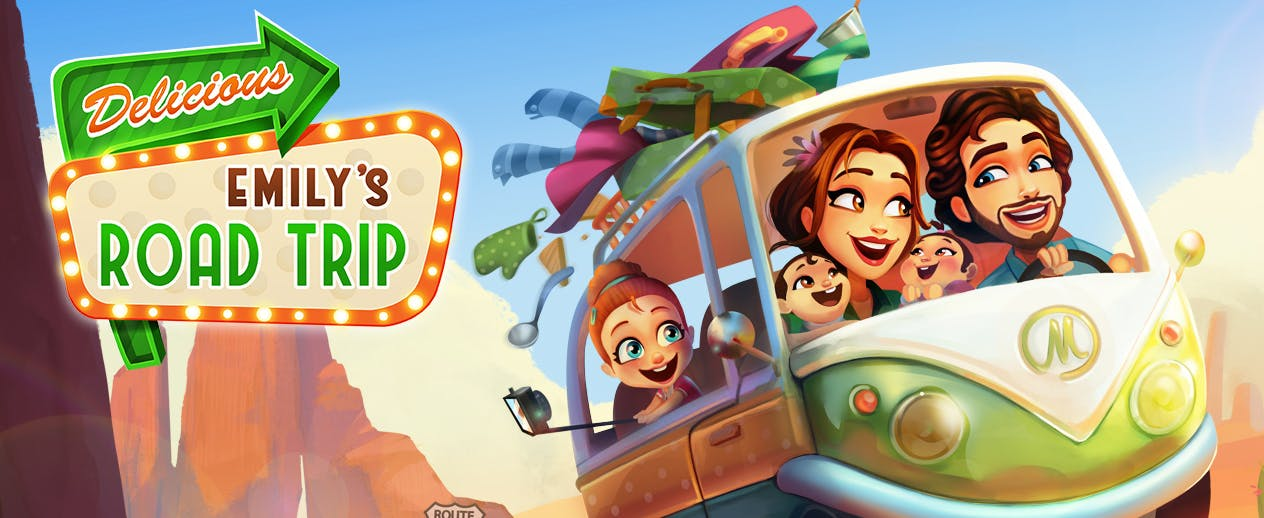 Delicious: Emily's Road Trip - Road trip, Emily-style! - image