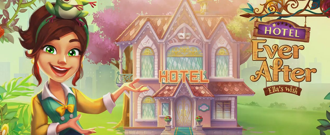 Hotel Ever After: Ella's Wish - They want to demolish her family home! - image