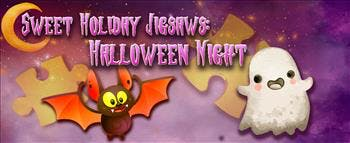 Sweet Holiday Jigsaws: Halloween Night - image