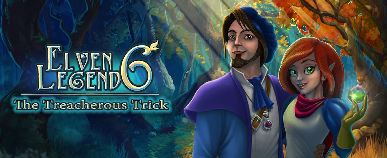Elven Legend 6: The Treacherous Trick -  - image