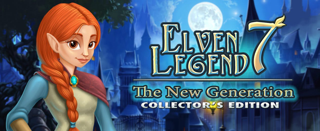 Elven Legend 7: The New Generation Collector's Edition - Save the people from invasion - image