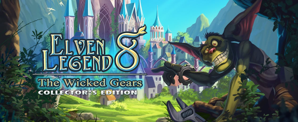 Elven Legend 8: The Wicked Gears Collector's Edition - Help the Elves stop the invasion! - image