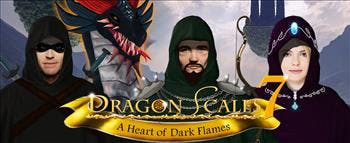 DragonScales 7: A Heart of Dark Flames - image