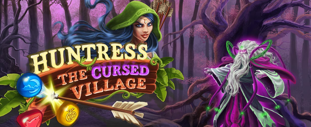 Huntress: The Cursed Village - Free your village from the curse! - image