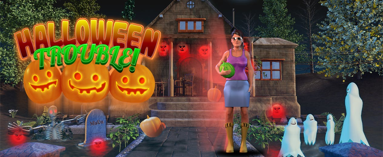 Halloween Trouble - On Halloween Annie's kids have vanished! - image