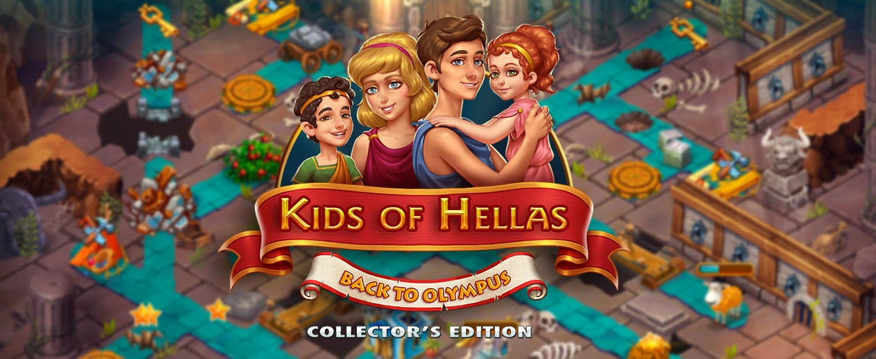 Kids of Hellas: Back to Olympus Collector's Edition -  - image