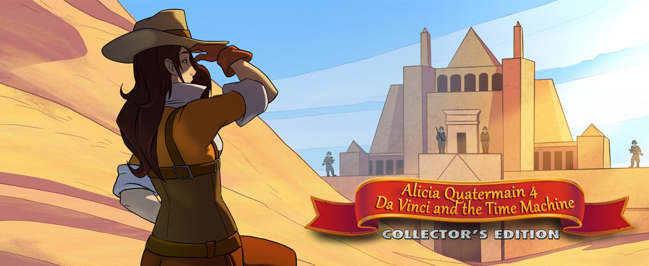Alicia Quatermain 4: Da Vinci and the Time Machine CE - Visit unforgettable places - image