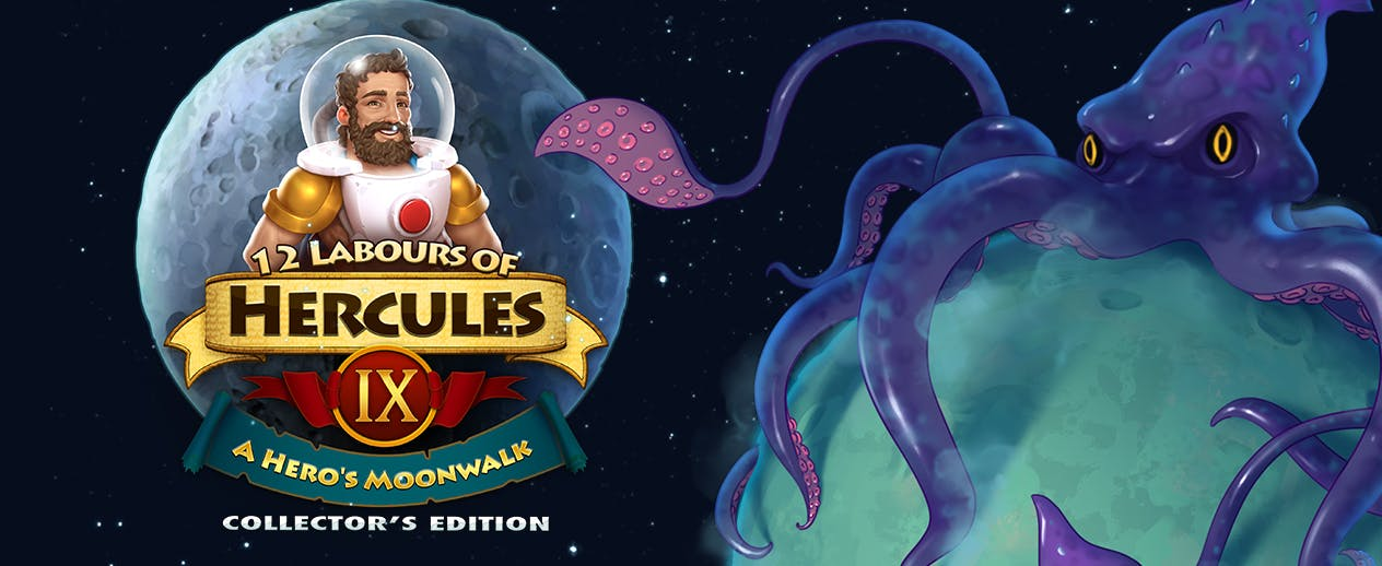 12 Labours of Hercules IX: A Hero's Moonwalk Collector's Edition - Join the heroes on a Space Odyssey - image