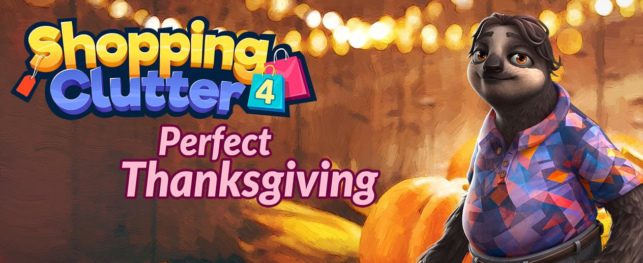 Shopping Clutter 4: A Perfect Thanksgiving - Help the Walkers prepare Thanksgiving! - image