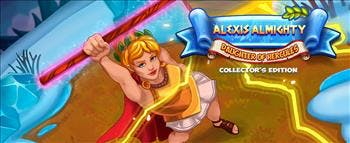 Alexis Almighty: Daughter of Hercules Collector's Edition - image