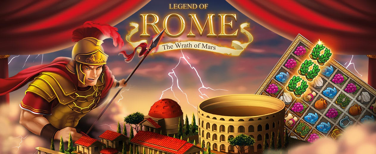 Legend of Rome: The Wrath of Mars - Build and restore the proud city - image