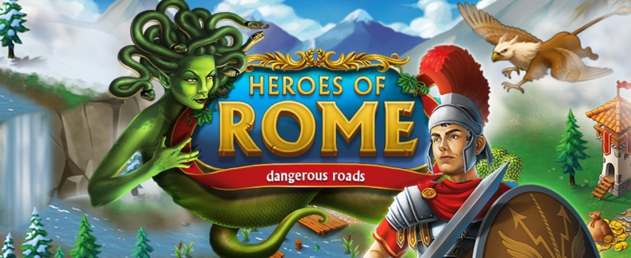 Heroes of Rome: Dangerous Roads - Face seemingly insurmountable dangers - image