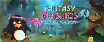 Fantasy Mosaics 43: Haunted Forest - image
