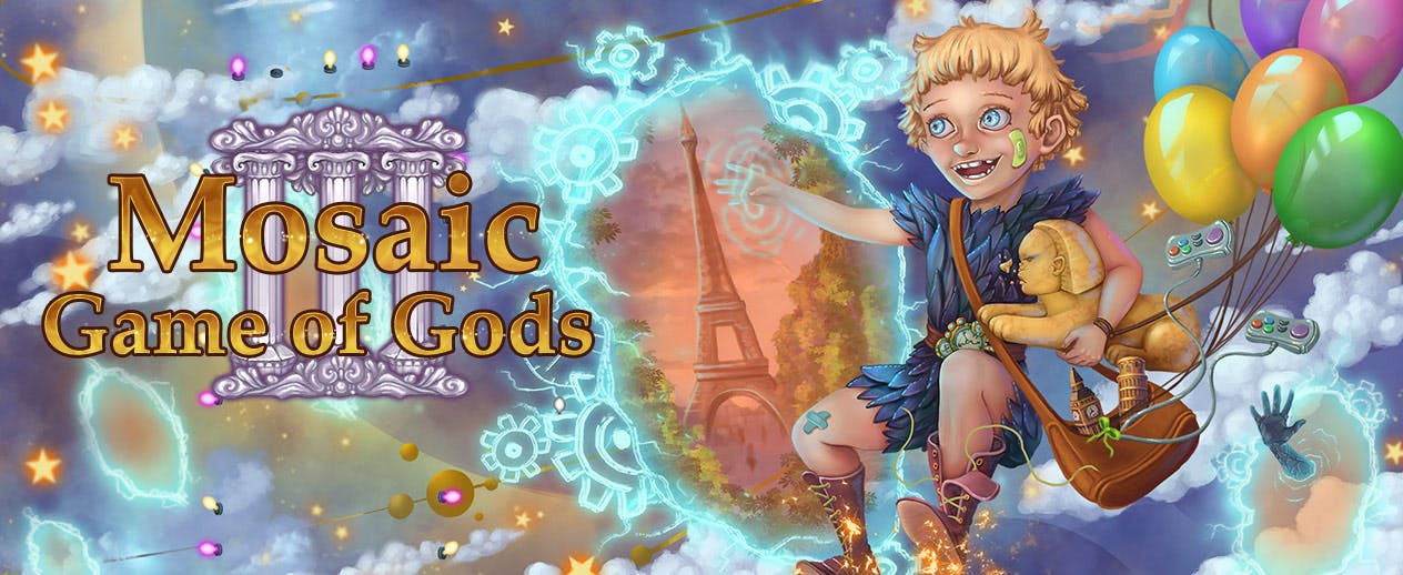 Mosaic: Game of Gods III - Celestial parents need your help! - image