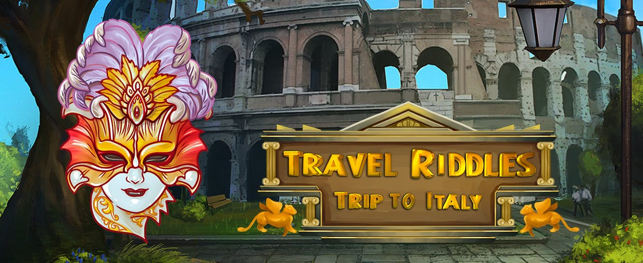 Travel Riddles: Trip to Italy - Go on a match-3 quest in Italy! - image