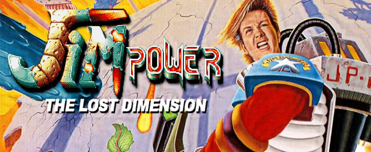 Jim Power - The Lost Dimension - Enhanced SNES Version - image