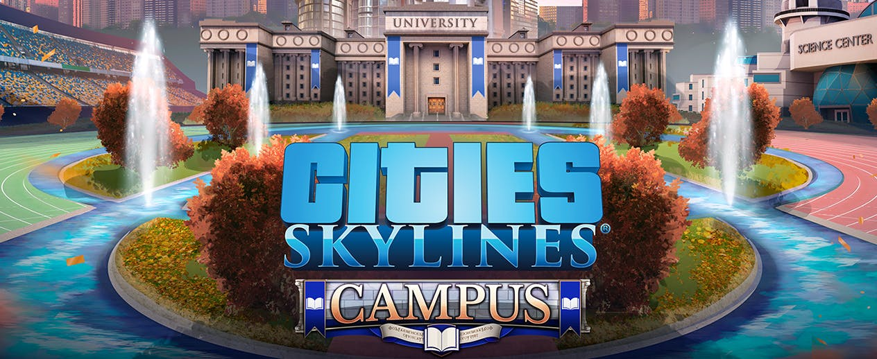 Cities Skylines Campus - Back to school! - image