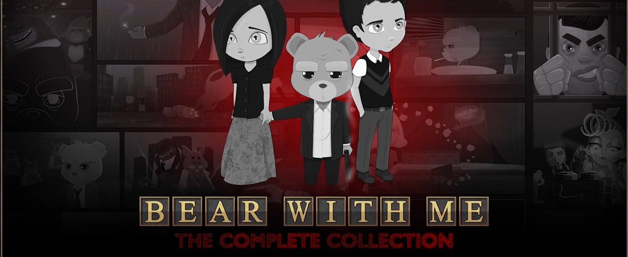 Bear With Me: The Complete Collection - Amber is trying to find her brother - image