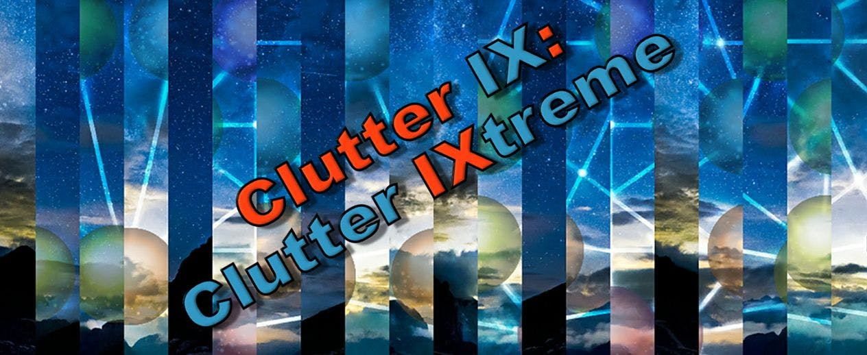 CLUTTER IX: Clutter IXtreme - The best Clutter yet, with 1100 puzzles! - image
