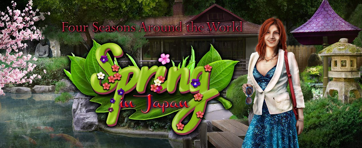 Four Seasons Around the World: Spring In Japan - Choose your own level of challenge - image