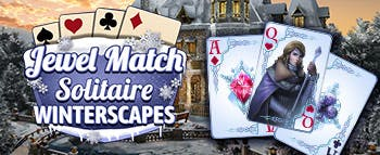 Jewel Match Solitaire Winterscapes - image