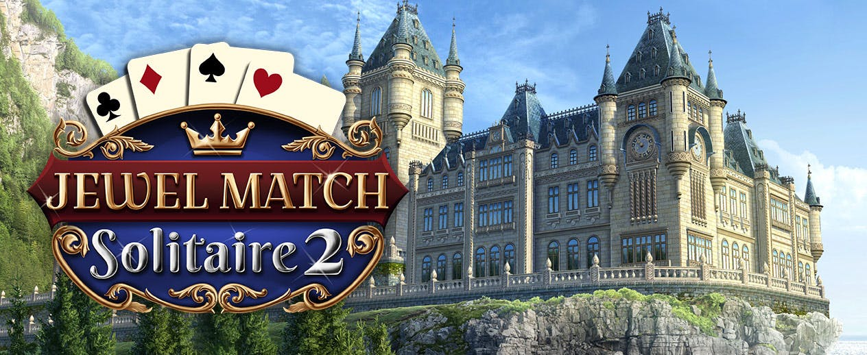 Jewel Match Solitaire 2 - Restore the kingdom's castles