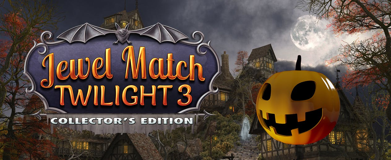 Jewel Match Twilight 3 Collector's Edition - Go on a spine-tingling Match-3 quest! - image