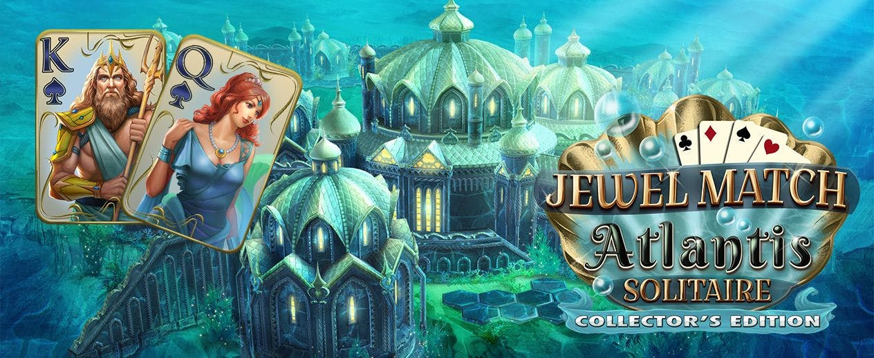 Jewel Match Atlantis Solitaire Collector's Edition - Take a deep dive into Atlantis Solitaire - image