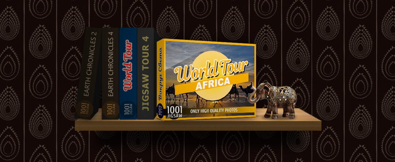 1001 Jigsaw World Tour: Africa - 500 photos of famous sights - image